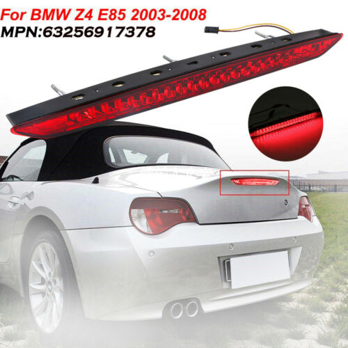 REAR BRAKE STOP LIGHT RED FOR BMW Z4 E85 2003-2008 TRUNK TAILGATE THIRD TAILGATE