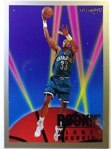 Rare-1993-93-94-Fleer-Rookie-Sensations-Alonzo-Mourning-Rookie-RC-17-Insert
