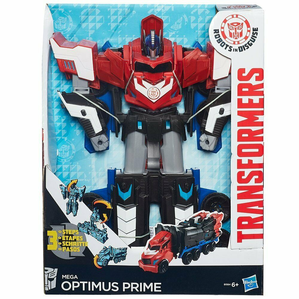 Transformers Robots in Disguise Mega Mega Mega Optimus Prime Figure.transformers and robot 8f52c8