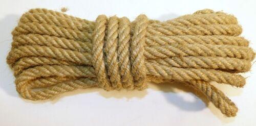 alter fester STRICK Kälberstrick HANFSEIL  Seil  Stück a 6,5 Meter
