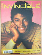 MICHAEL JACKSON - INVINCIBLE MAGAZINE #8   4 POSTERS INSIDE magazin mag