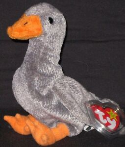 3a4fd7f5c30 TY HONKS the GOOSE BEANIE BABY - MINT with MINT TAG 8421042586