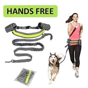 Hands-Free-Running-Double-Lead-Reflective-Ajustable-Dog-Walking-Waist-Belt-AL