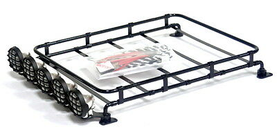 Metal Luggage / Light bar /Roof Rack For TAMIYA CC01,CR01/AXIAL SCX10 /RC4WD TF2