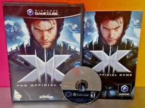 X-Men-3-Wolverine-Nightcrawler-Iceman-Nintendo-GameCube-NGC-Complete-Game-Tested