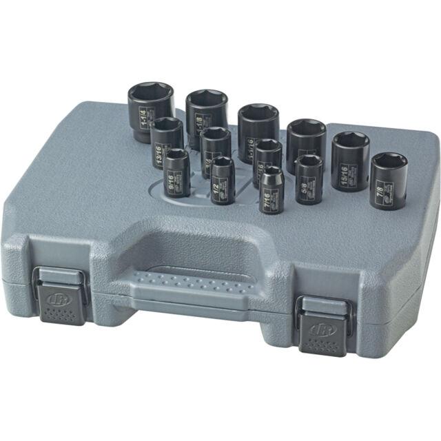 "Ingersoll Rand SK4H13N 13 PIECE  1//2/"" Drive SAE Impact Socket Set SK4H13N"