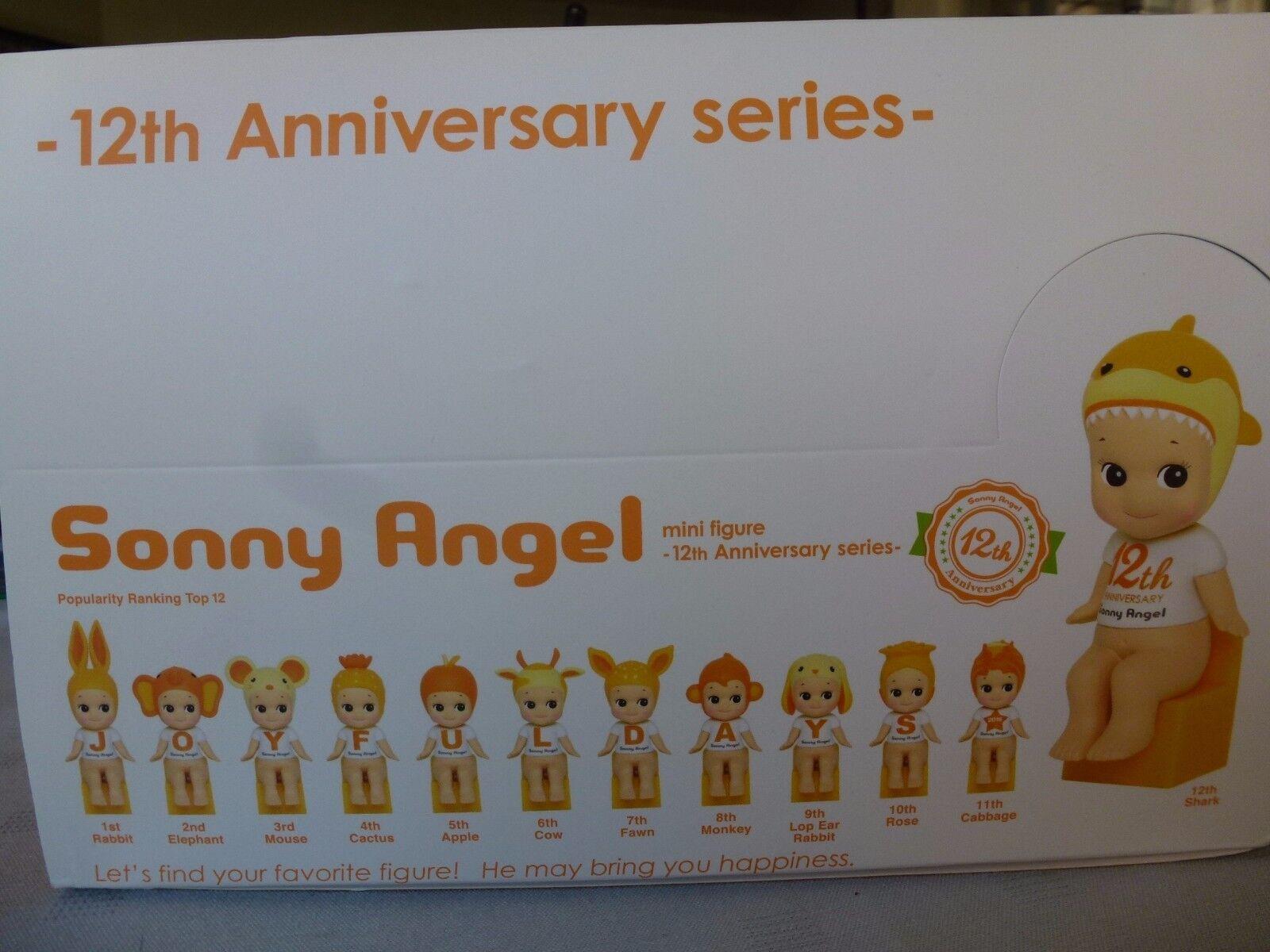 SONNY ANGEL full série complète 12   12 th anniversary 2016  ltd edition