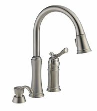 Delta Lakeview 59963-SSSD-DST Pull Down Sprayer Stainless Kitchen Faucet