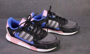 SB363-Adidas-ZX-850-W-Damen-Sneaker-Gr-40-5-schwarz-blau-rosa-grau-Leder