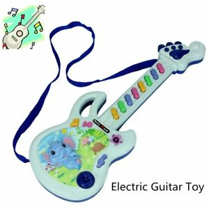 Electric Guitar Toy Musical Play Kid Boy Girl Toddler Learning