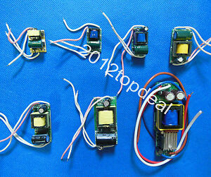 1-3x1W 4-5x1W 4-7x1w 8x12x1W 20-36x1w 1w-25w High Power Driver Supply 85-265V