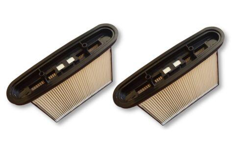 2 PES Filter waschbar Faltenfilter für Eibenstock DSS 25 A  DSS25A DSS 25A