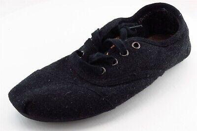 Toms Fashion Sneakers Black Fabric Women6Medium (B, M) | eBay