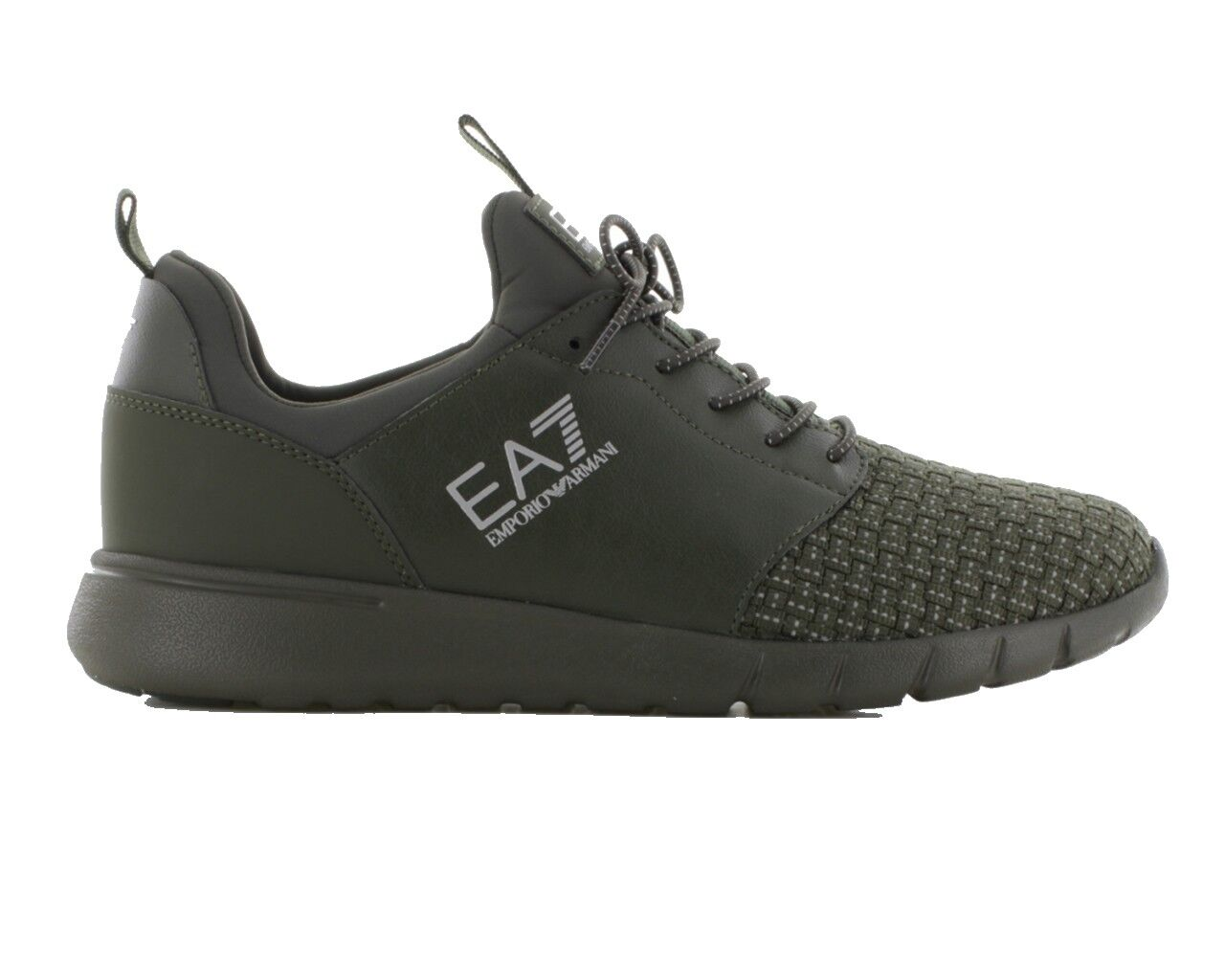 Offerta Emporio Armani 248054 8P299 Semplice Racer Intrecciato EA7 shoes