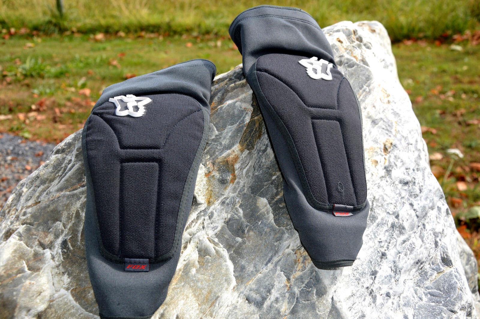 Fox Fox Fox Launch Enduro Elbow Pad MTB Protection coude de veille protecteur Gris Noir 700efc