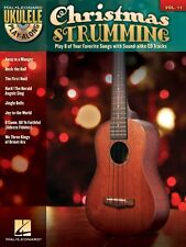 Christmas Strumming Sheet Music Ukulele Play-Along Book and CD NEW 000702458