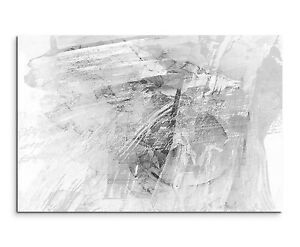 leinwandbild abstrakt schwarz grau wei paul sinus. Black Bedroom Furniture Sets. Home Design Ideas