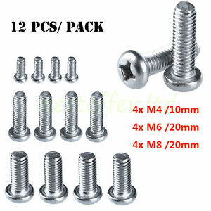Universal Tv Bracket Mounting Bolts Screws Fits Any Size