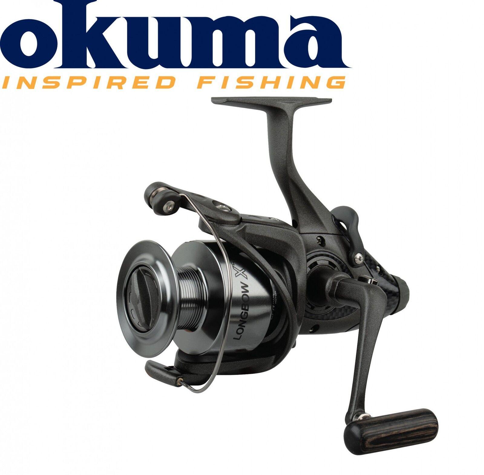 Okuma Longbow XT Baitfeeder 665 -340m 0,35mm Schnurfassung Freilaufrolle