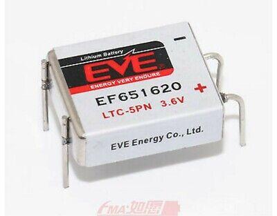 10 X Eve Ef651620 Ltc-5pn Größe 400mah Lithium Batterie Zelle 3.6v Uk Verkäufer