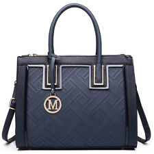 item 1 Ladies Designer Long Handle Tote Shoulder Handbag Reversible PU  Leather Bag -Ladies Designer Long Handle Tote Shoulder Handbag Reversible PU  Leather ... bae199f0fd