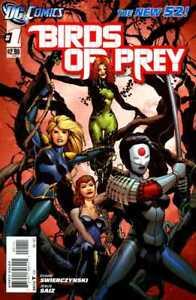 DC-Birds-of-Prey-Comic-Book-1-2011-Duane-Swierczynski-Movie-NM
