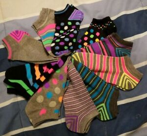 Womens-10-Pack-Multicolored-Socks