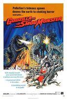 Godzilla Vs. The Smog Monster Movie Poster Print - 1971 Sci-fi - 1 Sheet Artwork
