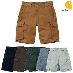 Carhartt-Short-Cargo-Ripstop-Travail-pantacourt-Hommes-Pantalons-de-NEUF