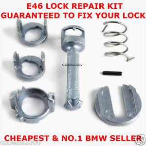 Door Lock Cylinder Repair Kit fits BMW E46 3 Series right