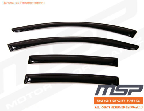 Windows Visor Out-Channel Sun Guard 4pcs 2008-2013 2014 2015 2016 Volvo XC70 4DR