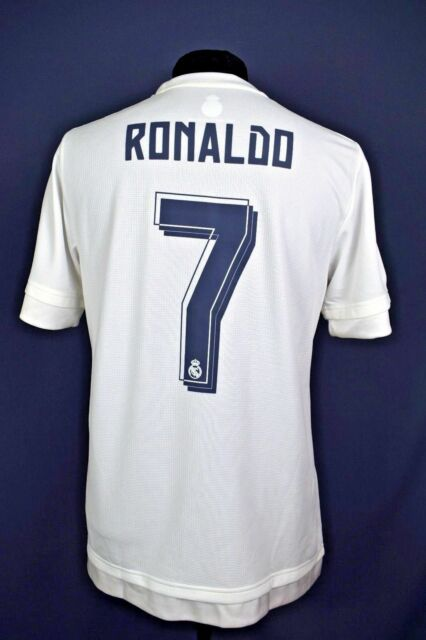 classic fit 0f96f a181a 5+/5 Cristiano Ronaldo Real Madrid jersey camiseta 15/16 Home adidas  official