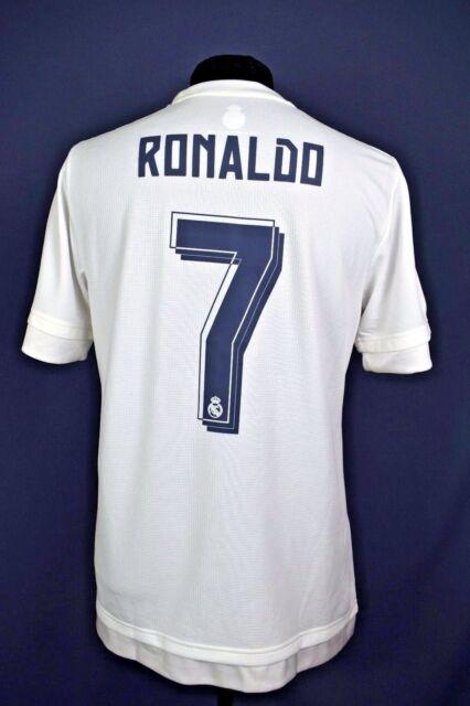 classic fit 86ea8 c3212 5+/5 Cristiano Ronaldo Real Madrid jersey camiseta 15/16 Home adidas  official