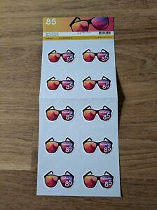 Schweiz, Sommer, Bogen Sonnenbrille, Summer, Sheet Sunglasses, Postfrisch / MNH