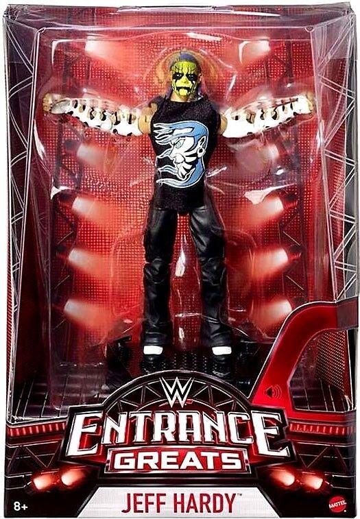 WWE Wrestling Entrance Greats Jeff Hardy Action Figure