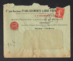 SAINT-FLORENT-sur-CHER-18-TOLERIE-USINE-d-039-ART-MENAGER-034-LABBE-034-Voyagee-1915