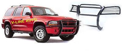 1997-2004 Dodge Dakota GRILL GUARD / BRUSH GUARD / Grille Front Guard - Black