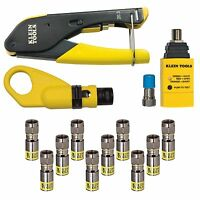 Klein Tools Vdv002-818 Coax Installation & Test Kit