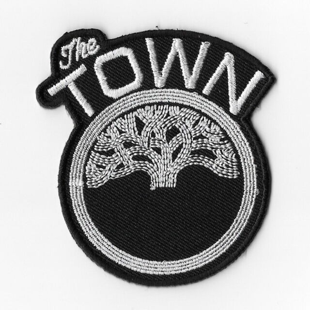 separation shoes 5cf76 443c2 NBA Golden State Warriors The Town Iron on Patches Embroidered Patch Badge  Black