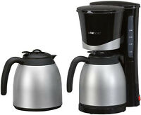 Clatronic Thermo Kaffeeautomat Edelstahl Kaffeemaschine Kaffee Maschine 2 Kannen