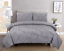 Pintuck-Pinch-Pleated-Duvet-Cover-Bedding-Set-Single-Double-King-With-Pillowcase thumbnail 9
