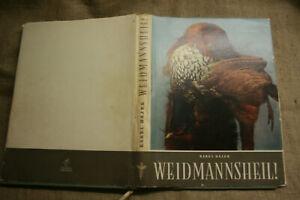 Fachbuch-Foerster-Jagd-Wild-Jaeger-Jagdhund-Wildtiere-Fotoband-DDR-1954