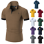 Men-039-s-Slim-Fit-Shirts-Short-Sleeve-Casual-Gol-T-Shirt-Jersey-Tops-Muscle-Tee thumbnail 7