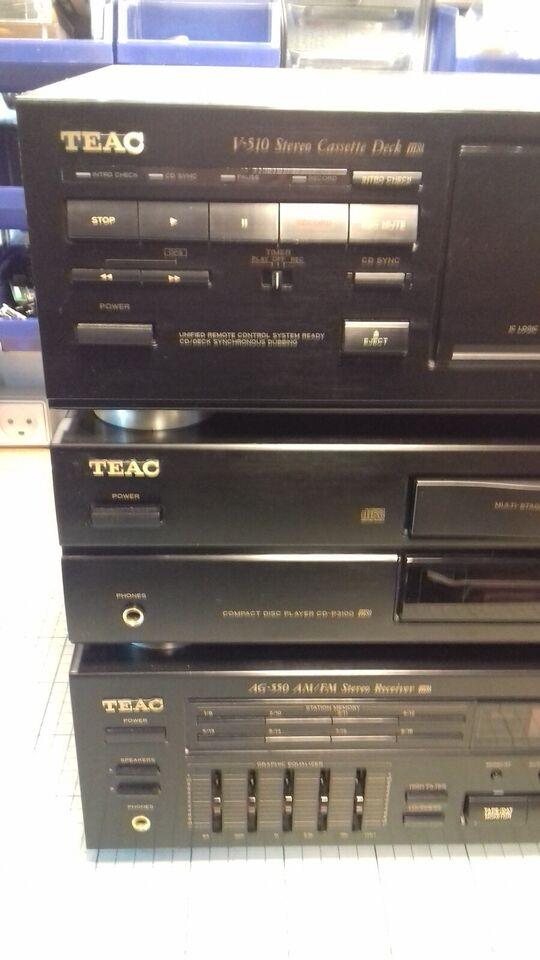 Stereoanlæg , Teac, AG-550