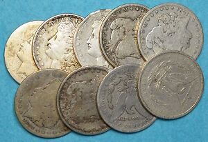 ONE-MORGAN-SILVER-DOLLAR-90-SILVER-JUNK-CULL-CIRCULATED-MORE-AVAILABLE-FAST-S-amp-H