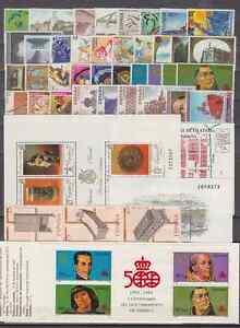 SPAIN-ANO-1991-COMPLETO-NUEVO-MNH-ESPANA-EDIFIL-3099-3151-CON-HB-Y-CARNET