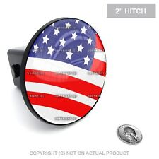 "2"" Tow Hitch Receiver Plug Cover Insert For SUV & Truck AMERICAN FLAG USA"