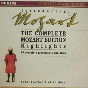 Mozart-CD-Album-The-Complete-Edition-Highlights-Philips-Germany-New