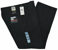 Dockers Signature Khaki Straight Fit D2 Flat Front Pants Size W29xL30 Dark