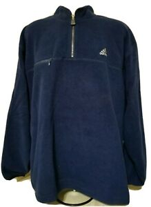 adidas 1/4 zip fleece vintage